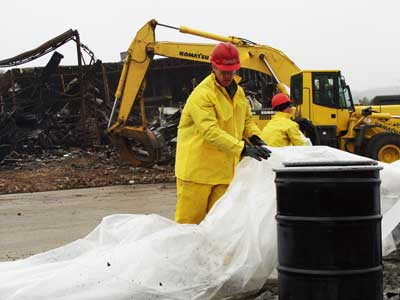 We routinely handle demolition and dismantling of partial or total building or plant structures.